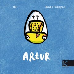 Portada do libro ilustrada por Marc Taeger